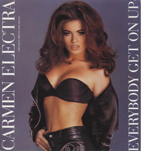 "Carmen Electra Everybody Get On Up 12"" vinyl single (12 inch record / Maxi-single) US CMN12EV93004"