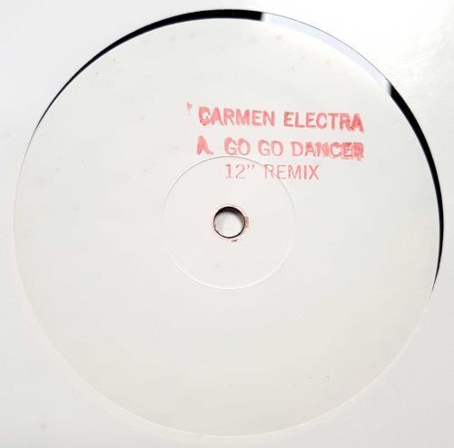 """Carmen Electra Go Go Dancer 12"""" vinyl single (12 inch record / Maxi-single) US CMN12GO680680"""
