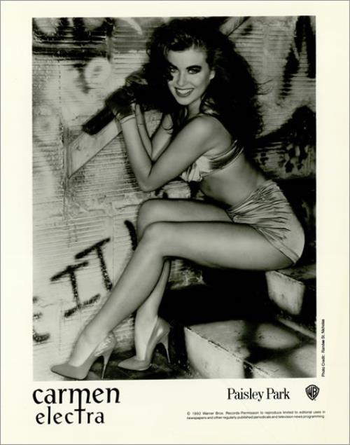 Carmen Electra Hot media press pack US CMNPPHO20081