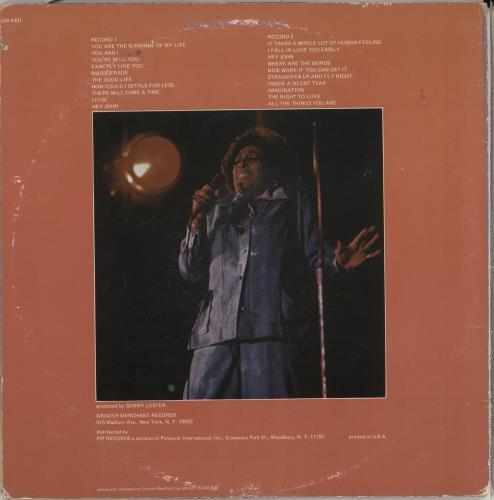 Carmen McRae Velvet Soul 2-LP vinyl record set (Double Album) US C-M2LVE711803