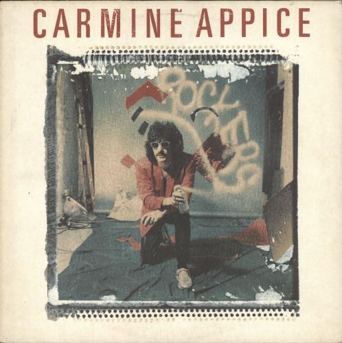 Carmine Appice Carmine Appice vinyl LP album (LP record) German CPPLPCA727230