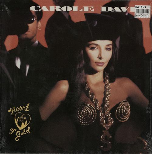 Carole Davis Heart Of Gold - Sealed vinyl LP album (LP record) German EY0LPHE575913