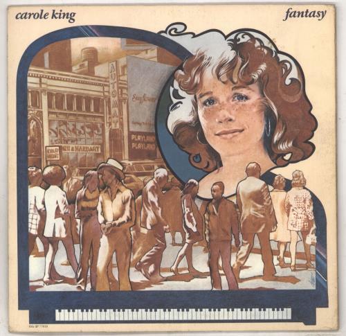 Carole King Fantasy vinyl LP album (LP record) US CRLLPFA735832