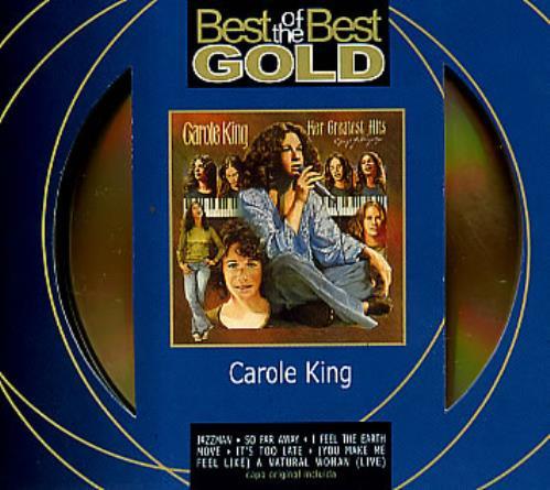 Carole King Her Greatest Hits (Songs Of Long Ago) CD album (CDLP) Brazilian CRLCDHE286048