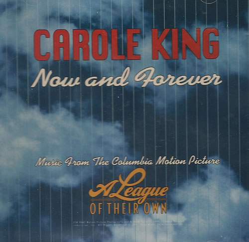 """Carole King Now And Forever CD single (CD5 / 5"""") US CRLC5NO487042"""