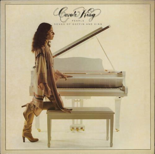 Carole King Pearls - Songs Of Goffin And King vinyl LP album (LP record) US CRLLPPE770105