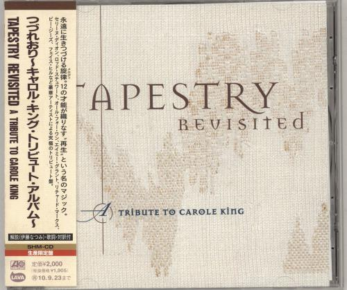 Carole King Tapestry Revisited - A Tribute To Carole King SHM CD Japanese CRLHMTA736663