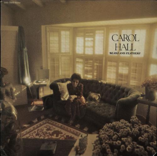 Carol Hall Beads And Feathers vinyl LP album (LP record) US E77LPBE599175