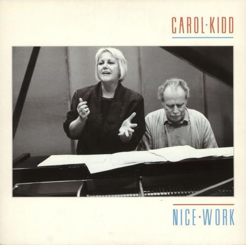 Carol Kidd Nice Work vinyl LP album (LP record) UK CPQLPNI472842