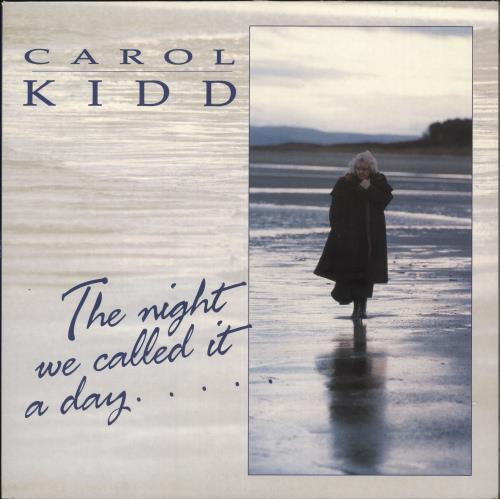 Carol Kidd The Night We Called It A Day + Lyric Inner vinyl LP album (LP record) UK CPQLPTH495048