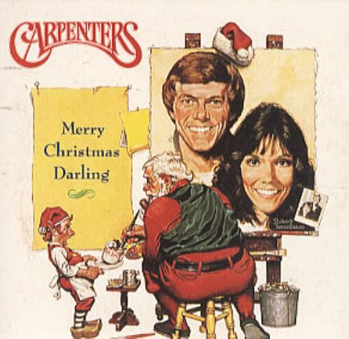 Carpenters Merry Christmas Darling Uk Cd Single Cd5 5