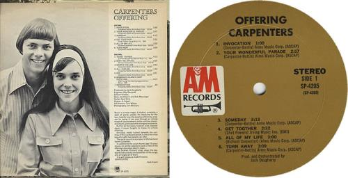 Carpenters Offering Us Vinyl Lp Album Lp Record 402705