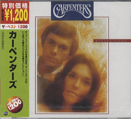 Carpenters Reflections CD album (CDLP) Japanese CRPCDRE331303