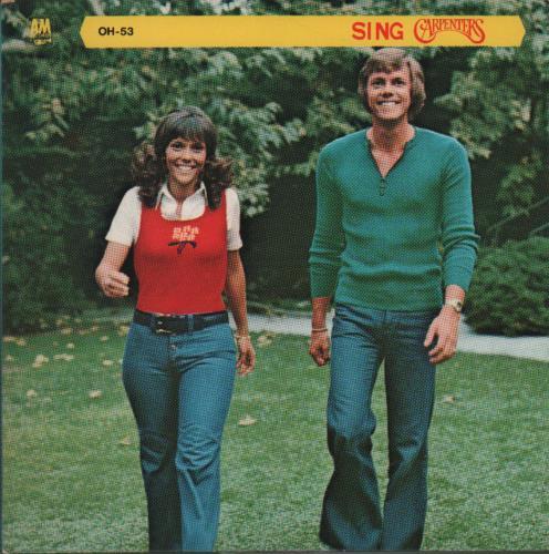 "Carpenters Sing 7"" vinyl single (7 inch record) Japanese CRP07SI650763"