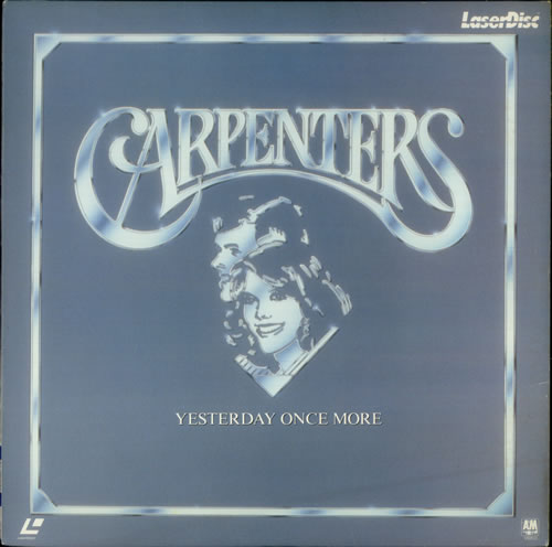 Carpenters Yesterday Once More Japanese Laserdisc