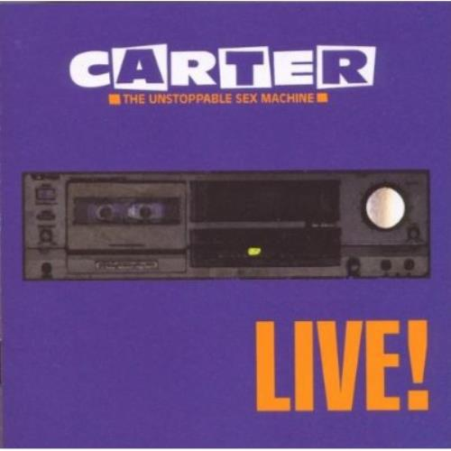 Carter USM Live! CD album (CDLP) UK USMCDLI233680