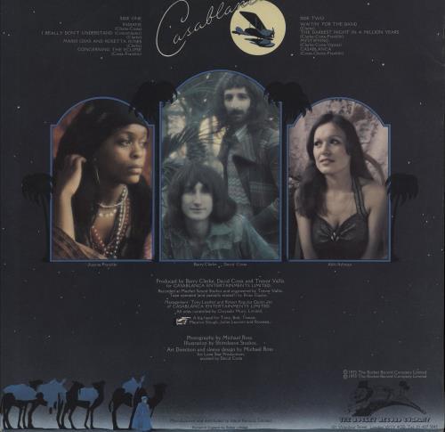 Casablanca (1970S) Casablanca vinyl LP album (LP record) UK 1I8LPCA751928