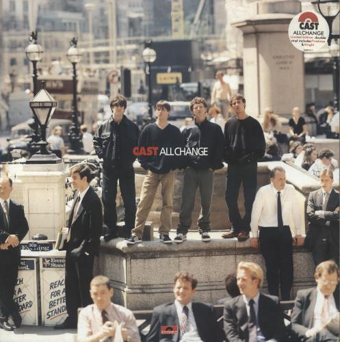 Cast All Change 2-LP vinyl record set (Double Album) UK C-A2LAL68724