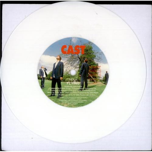 Cast Flying - White Vinyl UK 7\