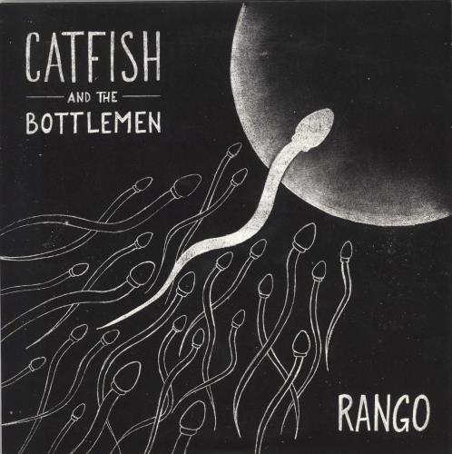"Catfish And The Bottlemen Rango - White Vinyl 7"" vinyl single (7 inch record) UK IHX07RA660699"