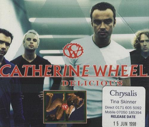 "Catherine Wheel Delicious CD single (CD5 / 5"") UK CTHC5DE124282"