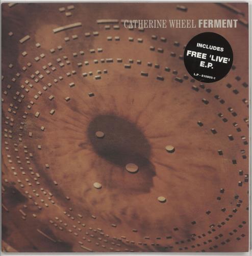 Catherine Wheel Ferment + Live EP 2-LP vinyl record set (Double Album) UK CTHLPFE121941
