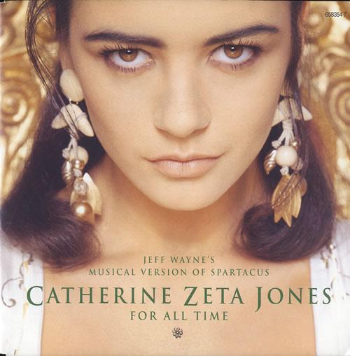 """Catherine Zeta Jones For All Time 7"""" vinyl single (7 inch record) UK CZJ07FO191845"""