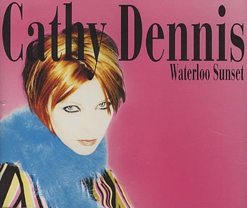 "Cathy Dennis Waterloo Sunset CD single (CD5 / 5"") UK DENC5WA182719"