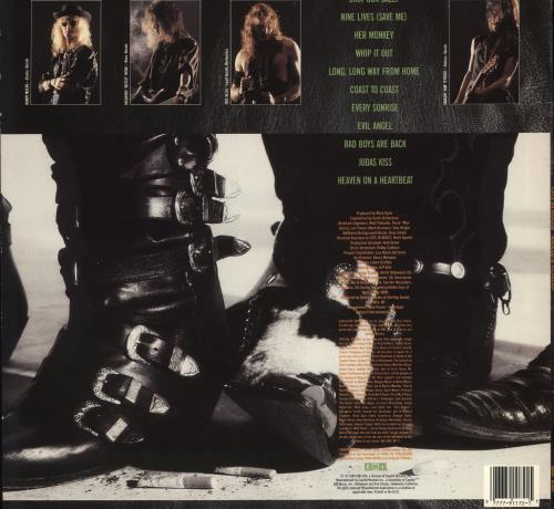Cats In Boots Kicked & Klawed vinyl LP album (LP record) US E6SLPKI708421