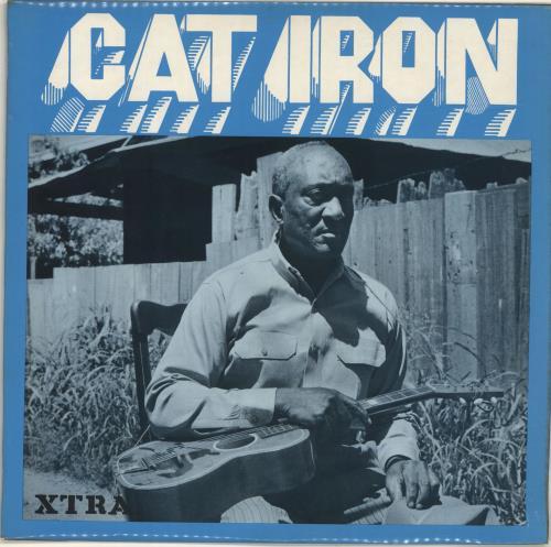 Cat Iron Cat Iron vinyl LP album (LP record) UK QJTLPCA696513