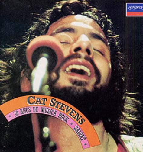 Cat Stevens 30 Anos De Musica Rock vinyl LP album (LP record) Mexican CTVLPAN201573