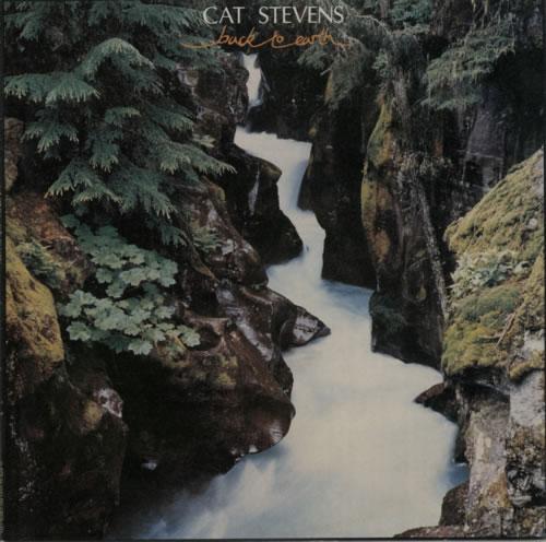 Cat Stevens Back To Earth vinyl LP album (LP record) UK CTVLPBA210580