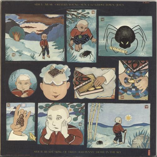 Cat Stevens Buddha And The Chocolate Box vinyl LP album (LP record) New Zealand CTVLPBU695718