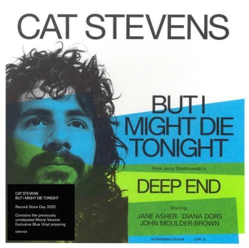 "Cat Stevens But I Might Die Tonight - Blue Vinyl - RSD 2020 - Sealed 7"" vinyl single (7 inch record) UK CTV07BU751529"