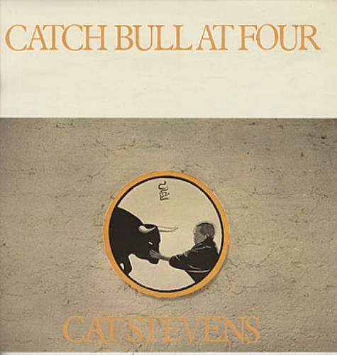 Cat Stevens Catch Bull At Four - 1st vinyl LP album (LP record) UK CTVLPCA60633