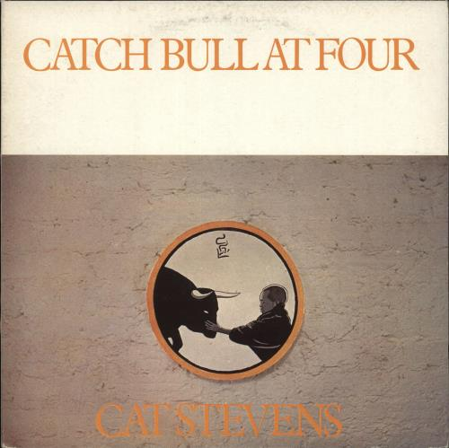 Cat Stevens Catch Bull At Four vinyl LP album (LP record) Italian CTVLPCA304240