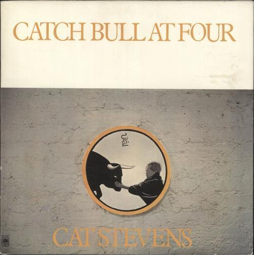 Cat Stevens Catch Bull At Four vinyl LP album (LP record) US CTVLPCA457850