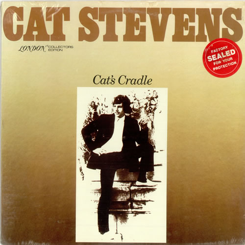 Cat Stevens Cat's Cradle - Sealed vinyl LP album (LP record) US CTVLPCA488519