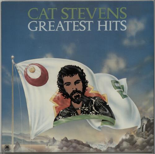 Cat Stevens Greatest Hits + poster vinyl LP album (LP record) US CTVLPGR647552