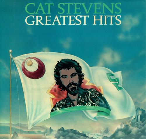 Cat Stevens Greatest Hits - 1st + Poster vinyl LP album (LP record) UK CTVLPGR61889