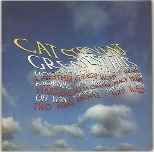Cat Stevens Greatest Hits - 3rd vinyl LP album (LP record) UK CTVLPGR713930