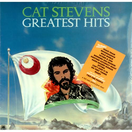 Cat Stevens Greatest Hits - Sealed vinyl LP album (LP record) US CTVLPGR419945