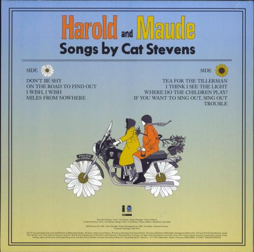 Cat Stevens Harold And Maude - Orange Vinyl - RSD 2021 - Sealed vinyl LP album (LP record) UK CTVLPHA771910