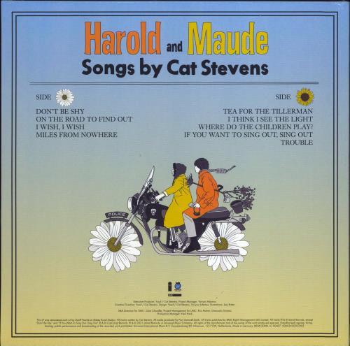 Cat Stevens Harold And Maude - Yellow Vinyl - RSD 2021 - Sealed vinyl LP album (LP record) UK CTVLPHA771911