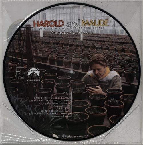 Cat Stevens Harold And Maude Us Promo Picture Disc Lp