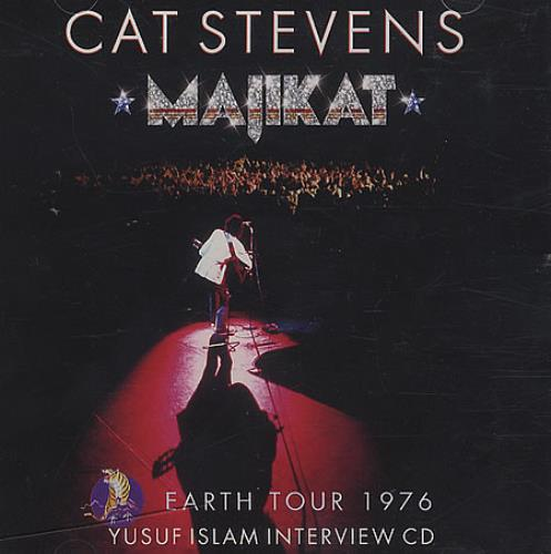 Cat Stevens Majikat - Earth Tour 1976 Yusuf Islam Interview CD CD album (CDLP) US CTVCDMA338348