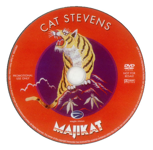 Cat Stevens Majikat - Earth Tour 1976 DVD UK CTVDDMA285910