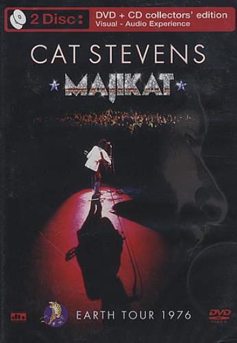 Cat Stevens Majikat - Earth Tour 1976 2-disc CD/DVD set UK CTV2DMA340549