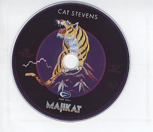 "Cat Stevens Majikat Earth Tour 1976 CD single (CD5 / 5"") German CTVC5MA317188"