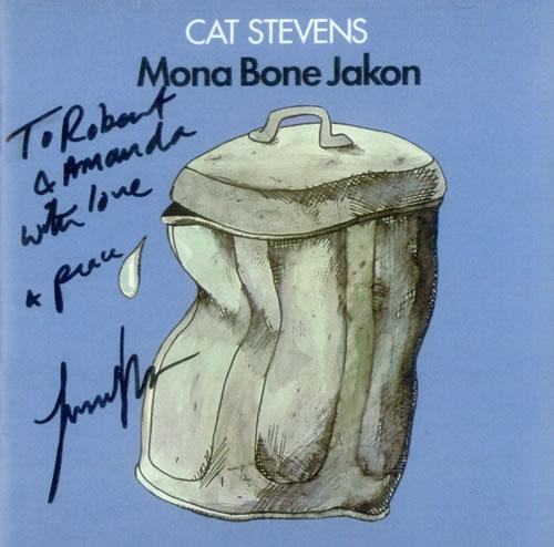 Cat Stevens Mona Bone Jakon - Autographed CD album (CDLP) US CTVCDMO520980